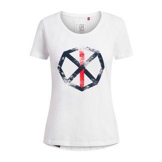 Shirts for Life Sara with Print T-Shirt Damen white