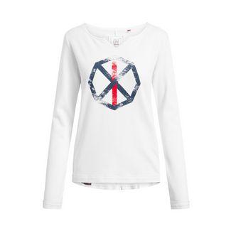 Shirts for Life Parma Spinnrad Sweatshirt Damen white