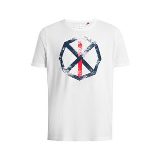 Shirts for Life Franky with Print T-Shirt Herren white