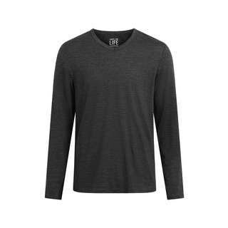 Shirts for Life SFL Mens Merino Langarmshirt Herren anthracite