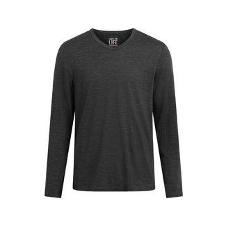Shirts for Life SFL Mens Merino Langarmshirt Herren anthracite