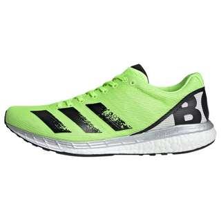 adidas Adizero Boston 8 Schuh Laufschuhe Herren Signal Green / Core Black / Grey One