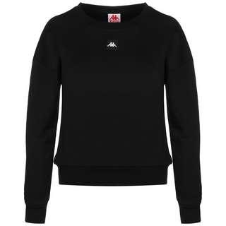 KAPPA Galinna Sweatshirt Damen schwarz / weiß