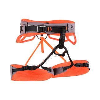 Mammut Comfort Fast Adjust Harness Women Klettergurt Damen shark-safety orange