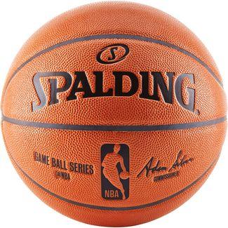 Spalding NBA Game Replika Basketball Herren orange / schwarz