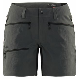 Haglöfs Rugged Flex Shorts Funktionsshorts Damen Magnetite/true black