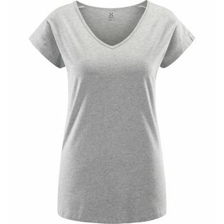 Haglöfs Camp Tee Funktionsshirt Damen Grey melange