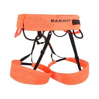 Mammut Sender Harness Klettergurt safety orange