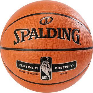 Spalding NBA Platinum Precision Basketball Herren orange / schwarz