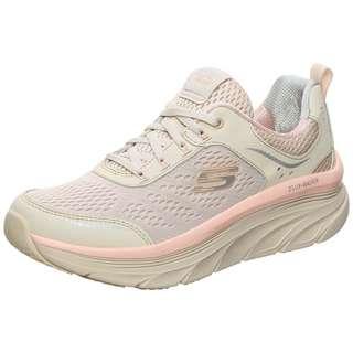 Skechers D'Lux Walker Infinite Motion Laufschuhe Damen rosa / beige