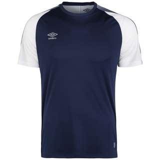 UMBRO Training Jersey Funktionsshirt Herren dunkelblau / weiß