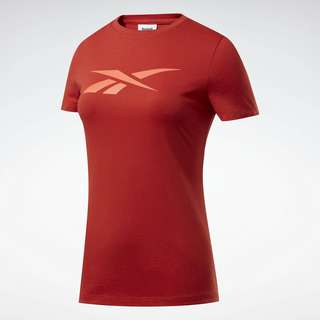 Reebok Vector Graphic T-Shirt Funktionsshirt Damen Rot