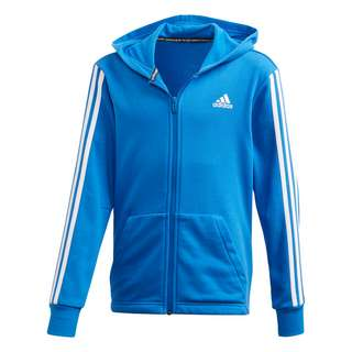 adidas Must Haves 3-Streifen Jacke Sweatshirt Kinder Blue / White