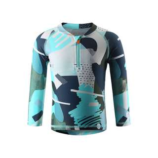 reima Tuvalu UV-Shirt Kinder Light turquoise
