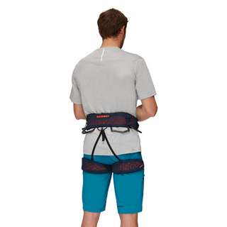 Mammut Comfort Knit Fast Adjust Harness Men Klettergurt Herren marine-safety orange