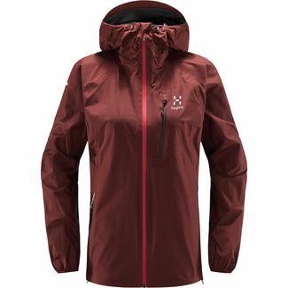 Haglöfs L.I.M Jacket Hardshelljacke Damen Maroon red