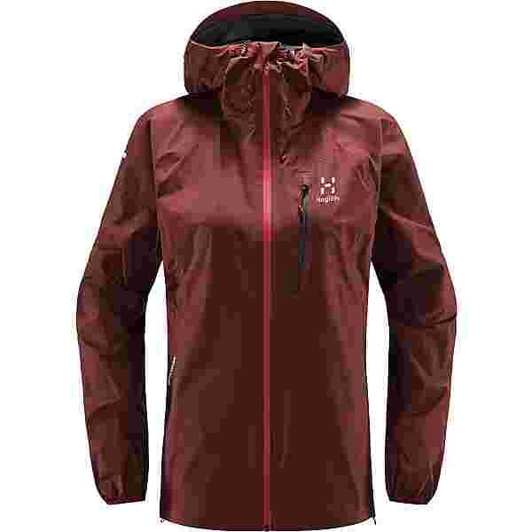 Haglöfs GORE-TEX L.I.M Jacket Hardshelljacke Damen Maroon red