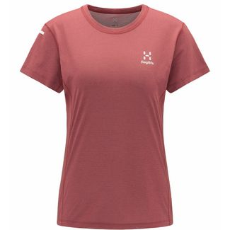 Haglöfs L.I.M Strive Tee Funktionsshirt Damen Maroon red