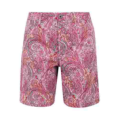 REPLAY Paisley Shorts Herren Red/Pink