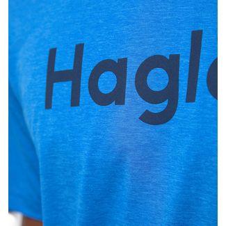 Haglöfs Ridge Tee Funktionsshirt Herren Storm blue