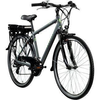 Zündapp Z802 Herren 700c E-Bike Trekking E-Bike grau/grün