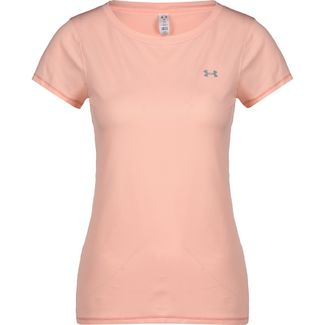 Under Armour HeatGear Funktionsshirt Damen apricot