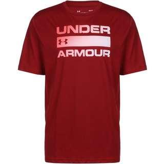 Under Armour Team Issue Wordmark Funktionsshirt Herren dunkelrot