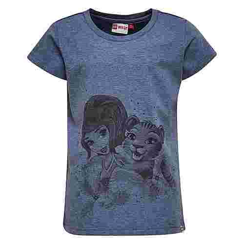 Lego Wear T-Shirt Kinder Blue Melange