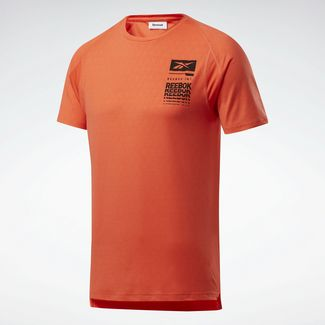 Reebok Funktionsshirt Herren Orange