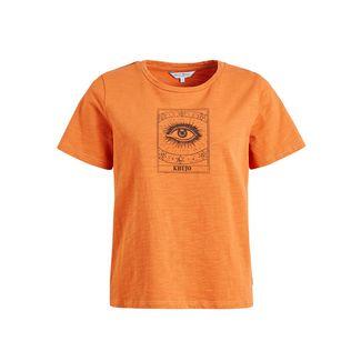 Khujo HELA T-Shirt Damen orange