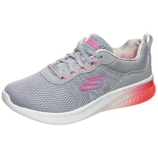 Skechers Skech-Air Ultra Flex Fitnessschuhe Damen grau / pink