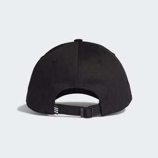 adidas Baseball Kappe Cap Herren Black / Black / White