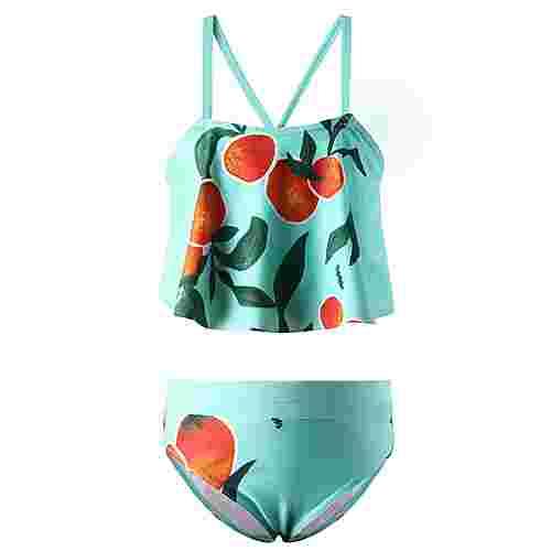reima Honolulu Bikini Set Kinder Light turquoise