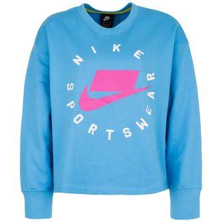 Nike Crew Fleece Sweatshirt Damen pink / weiß