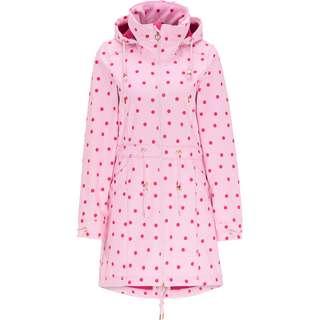 MYMO Softshellmantel Damen polka dots aop