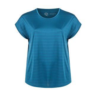 Endurance Printshirt Damen 2042 Majolica Blue