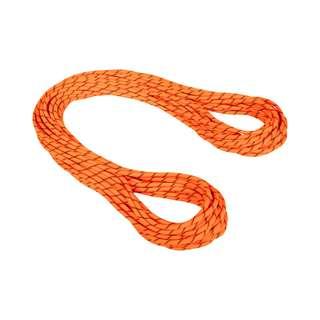 Mammut 8.7 Alpine Sender Dry Kletterseil Dry Standard, safety orange-black