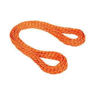 Mammut 8.7 Alpine Sender Dry Rope Kletterseil safety orange-black Dry Standard