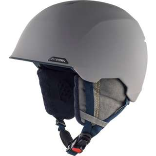 ALPINA ALBONA Skihelm grey-curry matt