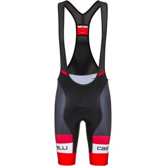 castelli COMPETIZIONE BIBSHORT Bibtights Herren black red
