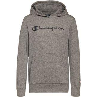 CHAMPION Hoodie Kinder graphite grey melange jaspè yarn dyed