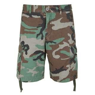REPLAY Military-Look Shorts Herren gemustert