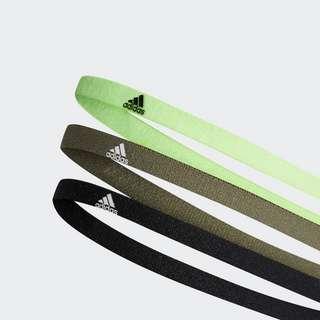 adidas Haarband 3er-Pack Cap Herren Black / Legacy Green / White