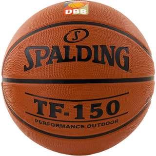 Spalding TF 150 DBB Basketball Herren orange / schwarz