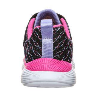 Skechers Move`N Groove Sparkle Spinner Sneaker Kinder schwarz / pink