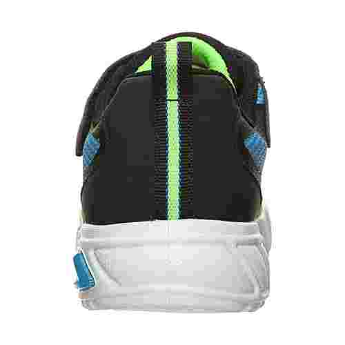Skechers Flex-Glow Dezlom Sneaker Kinder schwarz / hellgrün