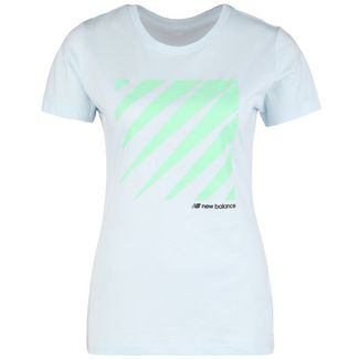 NEW BALANCE Sport Style T-Shirt Damen anthrazit / weiß