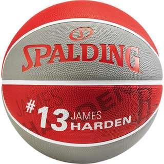 Spalding NBA James Harden Basketball Herren rot / grau