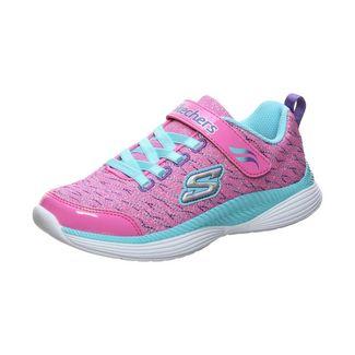 Skechers Move`N Groove Sparkle Spinner Sneaker Kinder pink / türkis