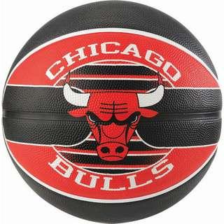 Spalding NBA Chicago Bulls Basketball Herren rot / schwarz